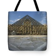 The Louvre Pyramid Paris Tote Bag