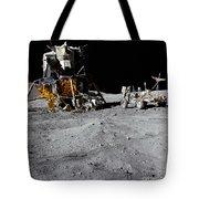 The Lunar Module And Lunar Roving Tote Bag