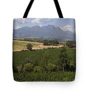 The Lush Garden Landscape Of A Vineyard Tote Bag