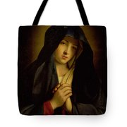 The Madonna In Sorrow Tote Bag
