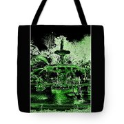 Green Savannah Tote Bag