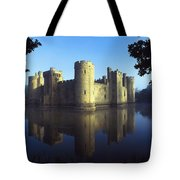 The Majestic Bodiam Castle And Its Tote Bag