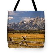 The Majestic Tetons Tote Bag