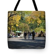 The Mall In Central Park Tote Bag