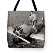 The Man And The Moment Tote Bag
