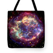 The Many Sides Of The Supernova Remnant Tote Bag