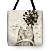 The Market Street Bridge Eagle Tote Bag