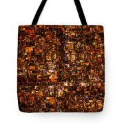 The Masses Of Metropolis Tote Bag