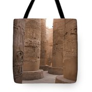 The Massive Columns In The Hypostyle Tote Bag