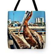 The Mayor Of Venice Pier Tote Bag