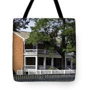 The Mclean House In Appomattox Virgina Tote Bag
