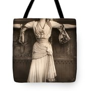 The Merry Widow Tote Bag