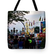 The Midway Lights Up Tote Bag