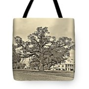 The Mighty One Sepia Tote Bag