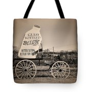 The Milk Wagon Tote Bag