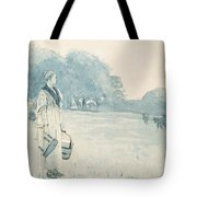 The Milkmaid Tote Bag