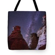 The Milky Way Rises Above The Wedding Tote Bag