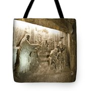 The Miracle At Cana In Galilee - Wieliczka Salt Mine Tote Bag