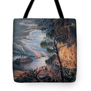 The Mississippi In Time Of War Tote Bag