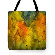The Mist In The  Autumn Tote Bag
