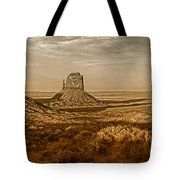The Mittens At Monument Valley Tote Bag