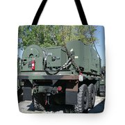 The Mk48 Logistics Vehicle System Tote Bag