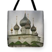 The Monastery Of The Resurrection. Uglich Russia Tote Bag