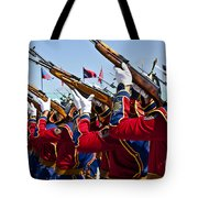 The Mongolian State Honor Guard Tote Bag