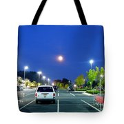 The Moon's Competition Tote Bag