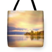 The Morning Quiet Tote Bag
