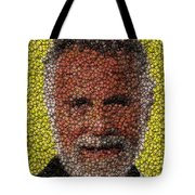 The Most Interesting Mosaic In The World Tote Bag by Paul Van Scott