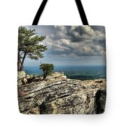 The Mountain Lookout Tote Bag