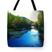 The Moyie River Near Yak B C Tote Bag
