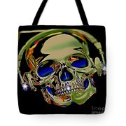 The Music Goes On Forvever Tote Bag