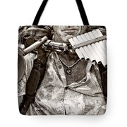 The Music Man - Monochrome Tote Bag