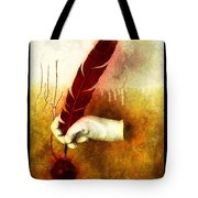 The Mystery  Tote Bag by Mauro Celotti
