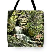The Mystery Waterfall Tote Bag