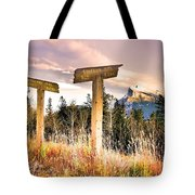 The Names Of The Mountains Tote Bag