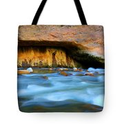 The Narrows Virgin River Zion 4 Tote Bag