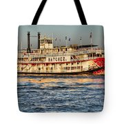 The Natchez Riverboat Tote Bag