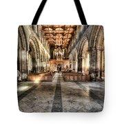 The Nave At St Davids Cathedral 3 Tote Bag