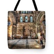 The Nave At St Davids Cathedral 5 Tote Bag