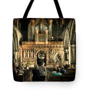 The Nave At St Davids Cathedral Tote Bag