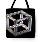 The Necker Cube Tote Bag