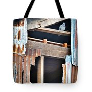 The Nervous Pigeon  Tote Bag