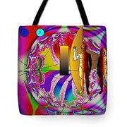 The New View Of Science Tote Bag