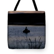 The Night Fisherman Floats Tote Bag