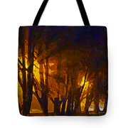 The Night Lights Tote Bag