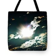 The Night Of The Eclipse Tote Bag