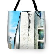 The Noon Sundial At The London Stock Exchange Tote Bag